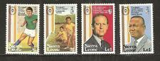 SIERRA LEONE # 519-522 MNH AWARDS, SOCCER PLAYER, PRINCE PHILIP