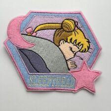 Anime Manga Magical Girl Sailor Moon Usagi Tsukino Iron-On Embroidery Patch