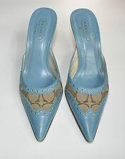 COACH Aqua Signature Pump Heels Shoes Size 6.5 EUC $200