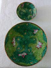 Hildegard Japanese Porcelaine Set, Enamel Floral Bowls