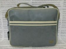 FRED PERRY Classic Shoulder Bag 3331 Grey Pu Messenger Cross Body Bags BNWT R£65