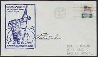 s557) Raumfahrt Space Apollo 16  CC 25.4.1972 OU Charles Duke - signed Bolaffi