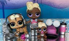 LOL Surprise Family Bundle 🖤 Funky Q.T Lil Sister & Pet - Funky Kat 🖤
