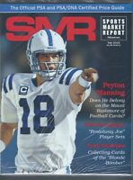 SMR Sports Market Report PSA/DNA Guide Magazine PEYTON MANNING FALL 2015  NEW
