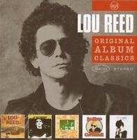 Lou Reed - Original Album Classics (2008)  5CD Box Set  NEW/SEALED  SPEEDYPOST