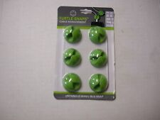 Cable Management Turtle Snaps By DMM, Green, 6 Pack, Brand New