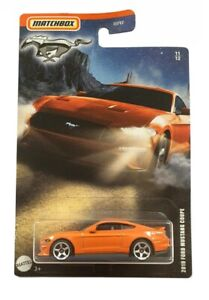 MATCHBOX MUSTANG SERIES GTL05 2019 FORD MUSTANG COUPE 11/12