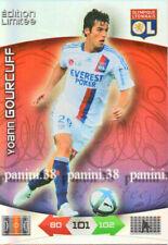 "ULTRA RARE !! GOURCUFF Carte EDITION LIMITEE ""FOOT 2011 ADRENALYN"" card Panini"