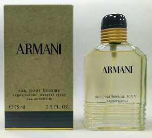 ARMANI POUR HOMME OLD EDITION - 75 ML / 2.5 FL. OZ - EAU DE TOILETTE FOR MEN