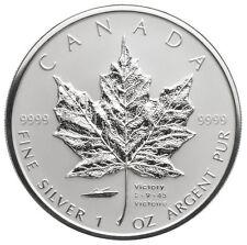 2005 Canada 1 oz Silver Maple Leaf - V-J Day Privy