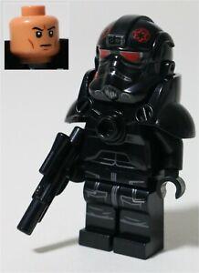 LEGO STAR WARS MANDALORIAN DARK TROOPER MINIFIGURE MADE OF GENUINE LEGO PARTS