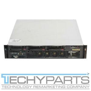 SUPERMICRO CSE-825MTQ-R700UB X9DBU-3F 2x E5-2420v2 2.2 GHZ 8GB 2U Server