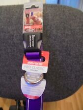 BRAND NEW EZY DOG NEO CLASSIC DOG COLLAR, IN PURPLE  SIZE L-- 45 cm to 51 cm