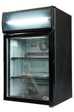*NEW* IDW G5C Beverage Merchandiser Counter Top Refrigerator Cooler Black
