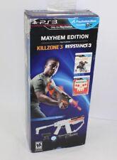 *SEALED NEW* PS3 Mayhem Edition Kill Zone 3 / Resistance 3 Playstation Move
