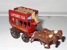 (w) lesney matchbox yesteryear LIPTONS TEA HORSE DRAWN BUS - 12
