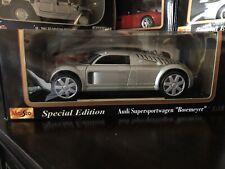 1:18 Maisto Special Edition Audi Supersportswagen Rosemeyer Special Edition