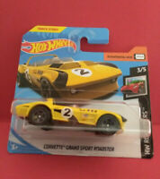 HOT WHEELS CORVETTE GRAND SPORT ROADSTER - SHORT CARTE - 2019 - VOITURE - R 5493
