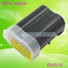 Genuine Original Nikon EN-EL15 Battery for Nikon D800E D7000 V1 D600 D800 camera