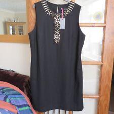 Boden Limited Edition Black embellished dress size 18 BNWT
