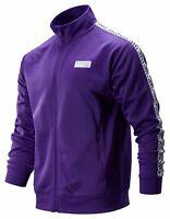 New Balance Men's NB Athletics Classic Track Jacket Purple