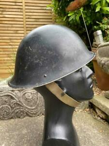 1952 Korean War British Turtle Shell Helmet Mk IV, Liner, Size 7