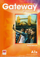 Macmillan GATEWAY A1+ 2nd Edition Student's Book Pack w Resource Centre Acc @NEW
