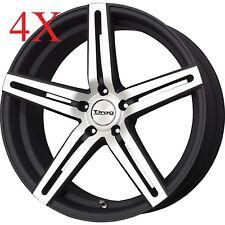 Drag Wheels Dr-60 20x10 5/120 et23 74.1mm Flat Black Machined Face Rim For BMW