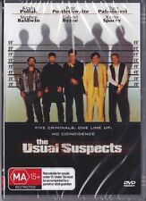 THE USUAL SUSPECTS - KEVIN SPACEY -  NEW & SEALED DVD FREE LOCAL POST