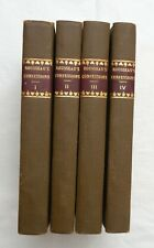 1819, 4-Vol, The Confessions of J.J. Rousseau...Reveries of Solitary Walker, HB