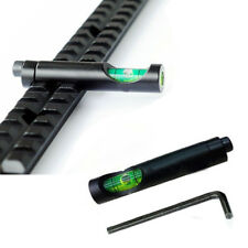 Metal Spirit Bubble Level for 20mm Weaver Rail Rifle Scope Mount with Wrench