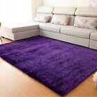 New Fluffy Rugs Anti-Skid Area Rug Floor Mat Dining Room Bedroom Bathroom Carpe
