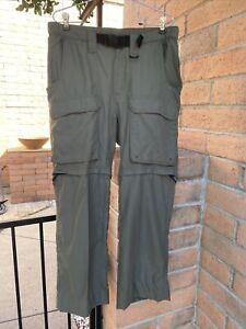 BSA Boy Scouts Nylon Convertible Uniform Switchback Pants/Shorts Ladies Size M