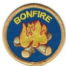 Girl Boy Cub BONFIRE Campfire Fun Patches Crests Badges SCOUT GUIDE camp fire