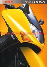 YAMAHA TMax 500 XP T-MAX - 2002 : Brochure - Dépliant - Moto - Scooter    #0679#