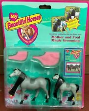 More details for my beautiful horses - mother and foal magic grooming - 1997 vivid imaginations