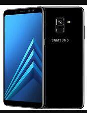 Brand New Samsung Galaxy A8 2018 32GB 4G Black single  Sim Unlocked Smartphone