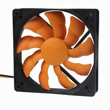 New 12CM Ultra Quiet Silent Cooling Fan 120mm 25mm DC 12V for PC Computer Case