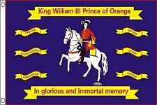 Northern Ireland King William of Orange 5'x3' Flag