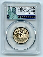 2019 S $1 American Innovation Dollar Reverse Proof GA Trustees PCGS PR70 FS Excl