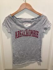 Abercrombie & Fitch XS gray Junior T-Shirt