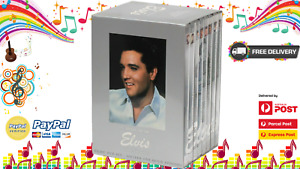 Elvis The Definitive Collection 25th Anniversary DVD Set 8 Collectors Rare