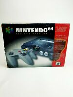 Nintendo N64 Console Complete/CIB- Tested- Good Shape Free Shipping!
