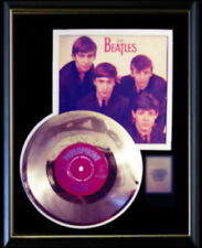 THE BEATLES LOVE ME DO UK GOLD METALIZED  RECORD RARE 45 PM SLEEVE NON RIAA