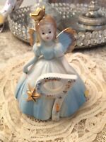 Josef Original Birthday Girl Age 9 Fairy Wand Taiwan porcelain