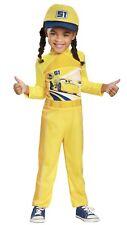 DISNEY CARS 3 Size 4-6X Dinoco 51 Cruz Ramirez Toddler Costume NEW with Hat