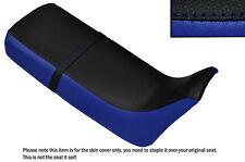 ROYAL BLUE & BLACK CUSTOM FITS HONDA XRV 650 AFRICA TWIN RD03 DUAL SEAT COVER