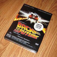 Back to the Future Trilogy Boxset DVD Limited Edition R4 Mint READ Description