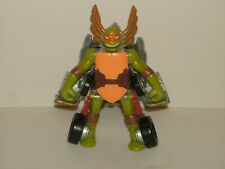 Teenage Mutant Ninja Turtles Transforming Michaelangelo Car Robot Action Figure