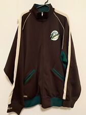 Rucker Vintage 5Xl Brown Green Jersey Track Jacket